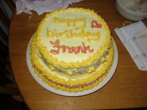 Frank's BirthdayCake!