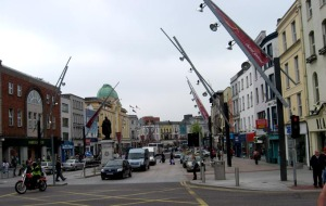 A view of Patrick Street in Cork