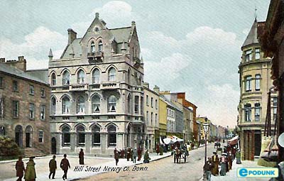 Old Newry Postcard - still looks like this!