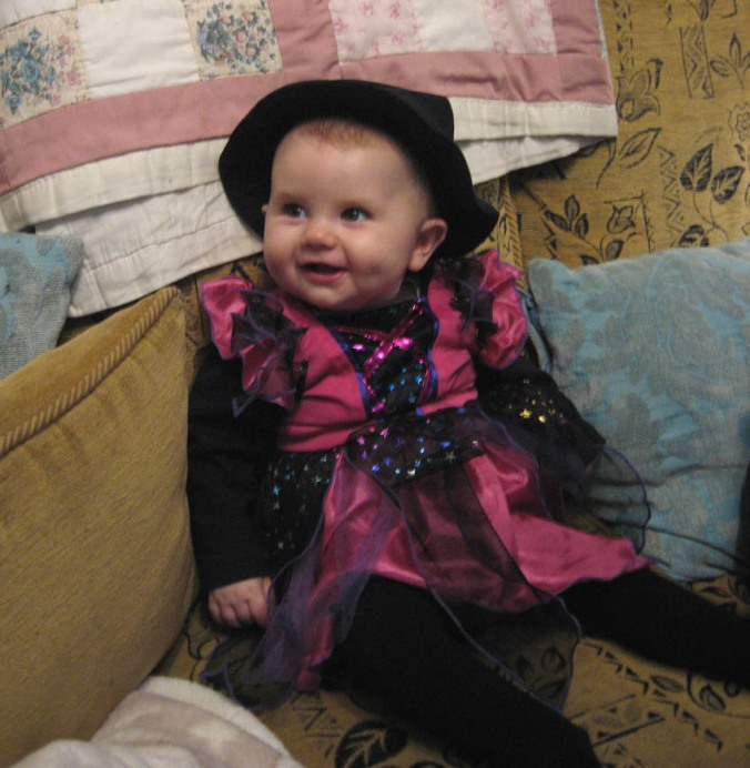 Chloe as a witch!