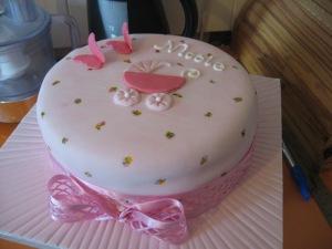 Nicole's Christening Cake