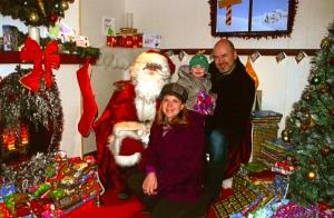 First Visit to Santa