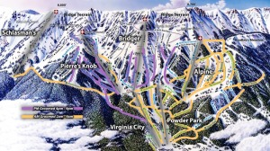 Bridger Bowl Map