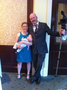 The Kellys dressed in our best (minus Evey, who was with her Nana!).  Oh yeah, and Frank was on camera duty for the day.