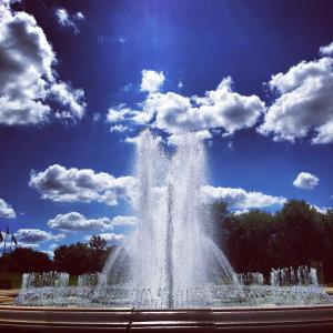 Garfield Park fountains