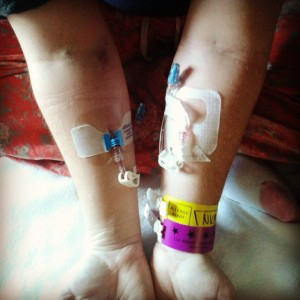 Bruises, Needles, ID Bracelets