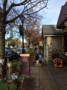 A walk through lovely Saratoga