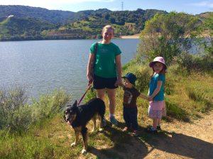 Hike at Steven's Creek Park
